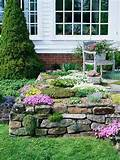 the beauty of rock garden design for backyard garden ideas home