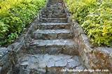 Rock Landscaping Stair Ideas