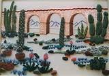 3824 succulent rock garden