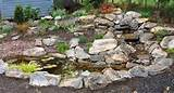 Water Feature Rock Garden