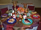 Fall Garden Themed Table (From FBC in Douglas, GA, G.E.M.S.)