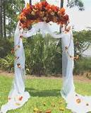 Fall Wedding Arch Decoration Ideas - Wedding Arch Decoration Ideas