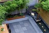 contemporary backyard decorations plans