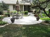 backyard landscaping designs free