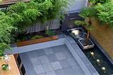 contemporer patio garden interior design home design living