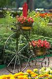 Antique Bicycle Planter Ideas