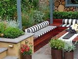 Patio Decorating Ideas, Contemporary Small Patio Garden
