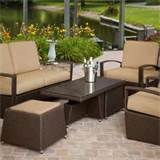 home and garden wicker patio set ideas best patio design ideas