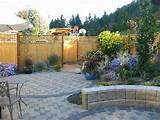 landscape patio ideas landscape ideas and pictures