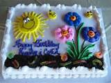 share your fun and fabulous homemade garden cakes via photos of your