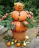 garden television and a bunch of ideas here pumpkin topiaries