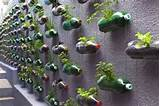 included this neat vertical garden made from recycled pet bottles