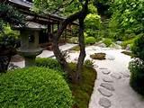 Japanese landscape ideas - small garden