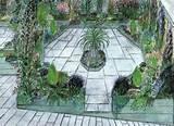 patio designs shade garden designs garden design melbourne small ...