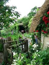 old english cottage garden