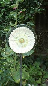 whimsical glass garden flowers by goldenhandsdesign on etsy