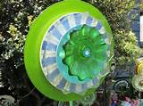 Glass Plate Garden Art Fantasy Flower by TheEverlastingGarden, $40.00