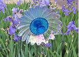 garden art glass flower suncatcher