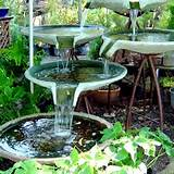 unique garden decor waterfall