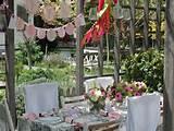 simple unique garden decor party decorations ideas