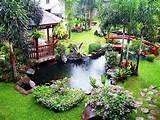 unique garden decor ideas with japanesse style