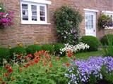 cottage garden flowerbeds