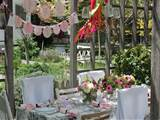 Simple Garden Party Decorations Ideas