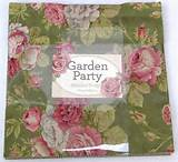 Moda GARDEN PARTY Moda Fabric Layer Cake