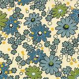 Cream Floral ABC 123 Garden Fabric - Moda - American Jane - Reg 10.99