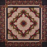 Bright Star Flower Quilt Pattern EBD-902
