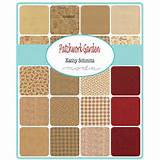 Moda PATCHWORK GARDEN Quilt Fabric by Kathy Schmitz for Moda Fabrics