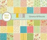flowers jelly roll 17760jr by sandy gervais for moda quilt fabric