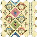 by moda hydrangeas by clothworks ink blossom by rjr fabrics