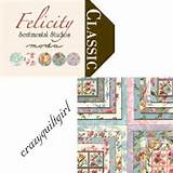 moda felicity quilt fabric by sentimental studios