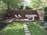 Cozy Outdoor Wood Deck Design Ideas Cozy Sofa For Seating At Low Deck ...