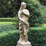 dorset maiden outdoor statue frontgate traditional garden sculptures