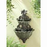 Pineapple Home Garden Outdoor Wall Water Fountain Decor