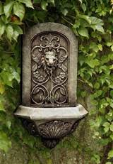 Garden Wall Fountains Great for the Garden
