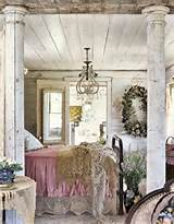Very vintage shabby chic..love the mixture of wood and crystal ...