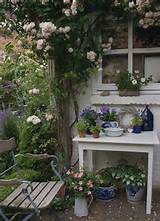 Attempting Romantic Dream Images... Shabby Chic Garden Style