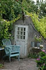 shabby chic garden style