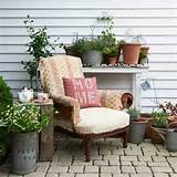 Cosy country garden | Garden decorating ideas | Garden | Country Homes ...