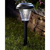 moonrays 91380 payton style black plastic solar led light 10 pack