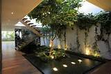 garden inside creative decoration of the casa veintiuno with indoor