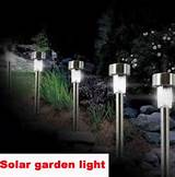hot stainless steel solar garden lights solar lawn light solar lamp us