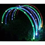 details about 10ft 24 led solar powered string lights garden christmas