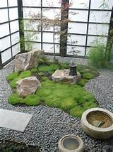 Nice Contemporary Zen Garden Design Layout