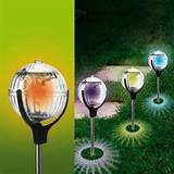 solar powered globe lamp lawn lights garden lights garden lights