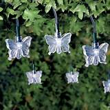 20 solar butterfly garden lights