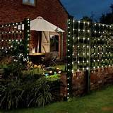 50 blue led solar fairy garden lights 5 metre string solar powered